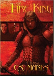 C.S. Marks The Fire King Cover