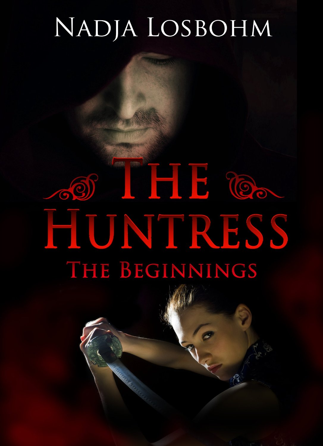 The Huntress (The Beginnings Book 1) (German Edition) Book Cover