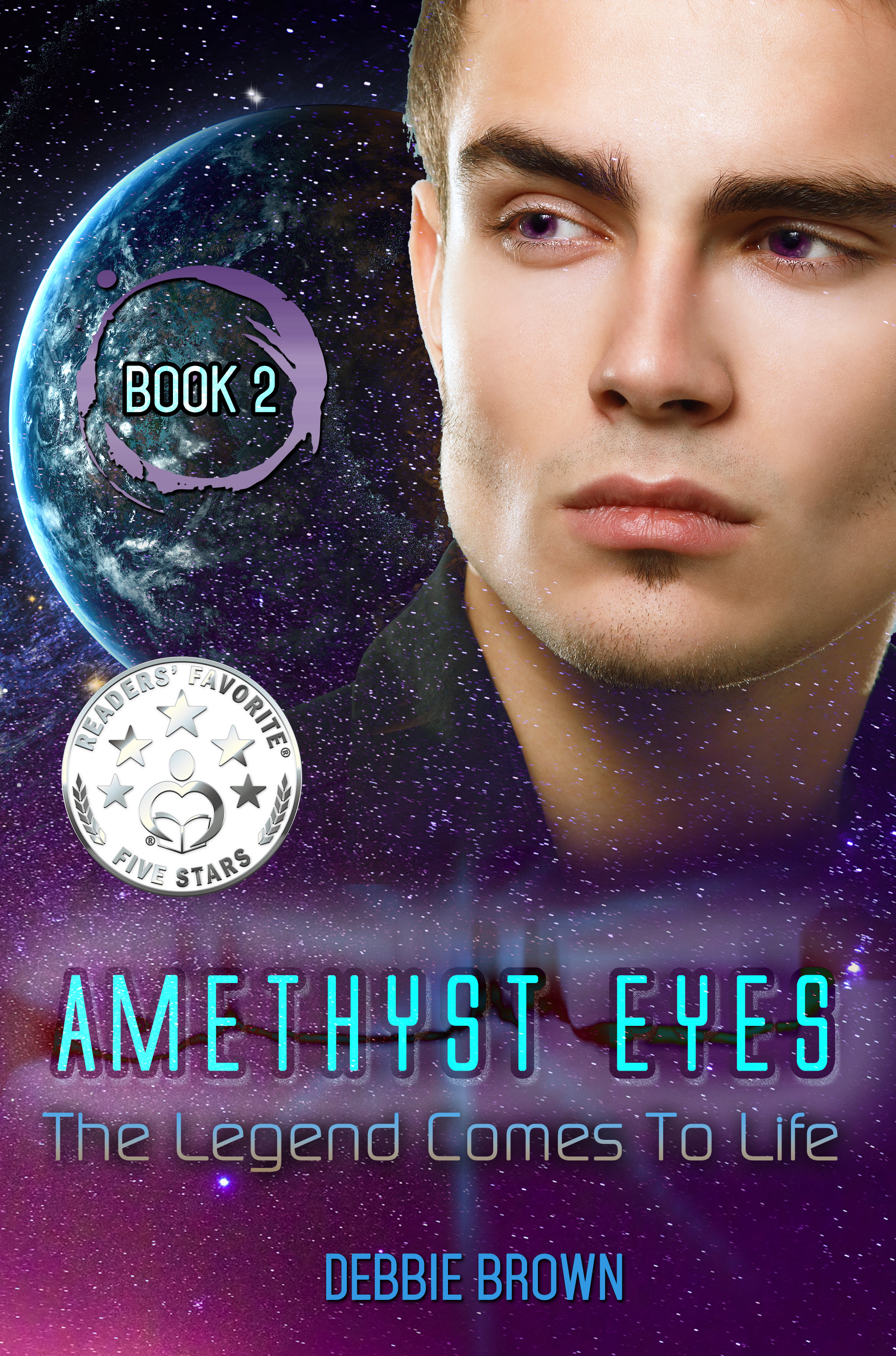 Amethyst Eyes: The Legend Comes to Life Book Cover