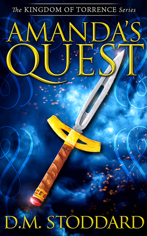 Amanda's Quest (Kingdom Of Torrence) Book Cover