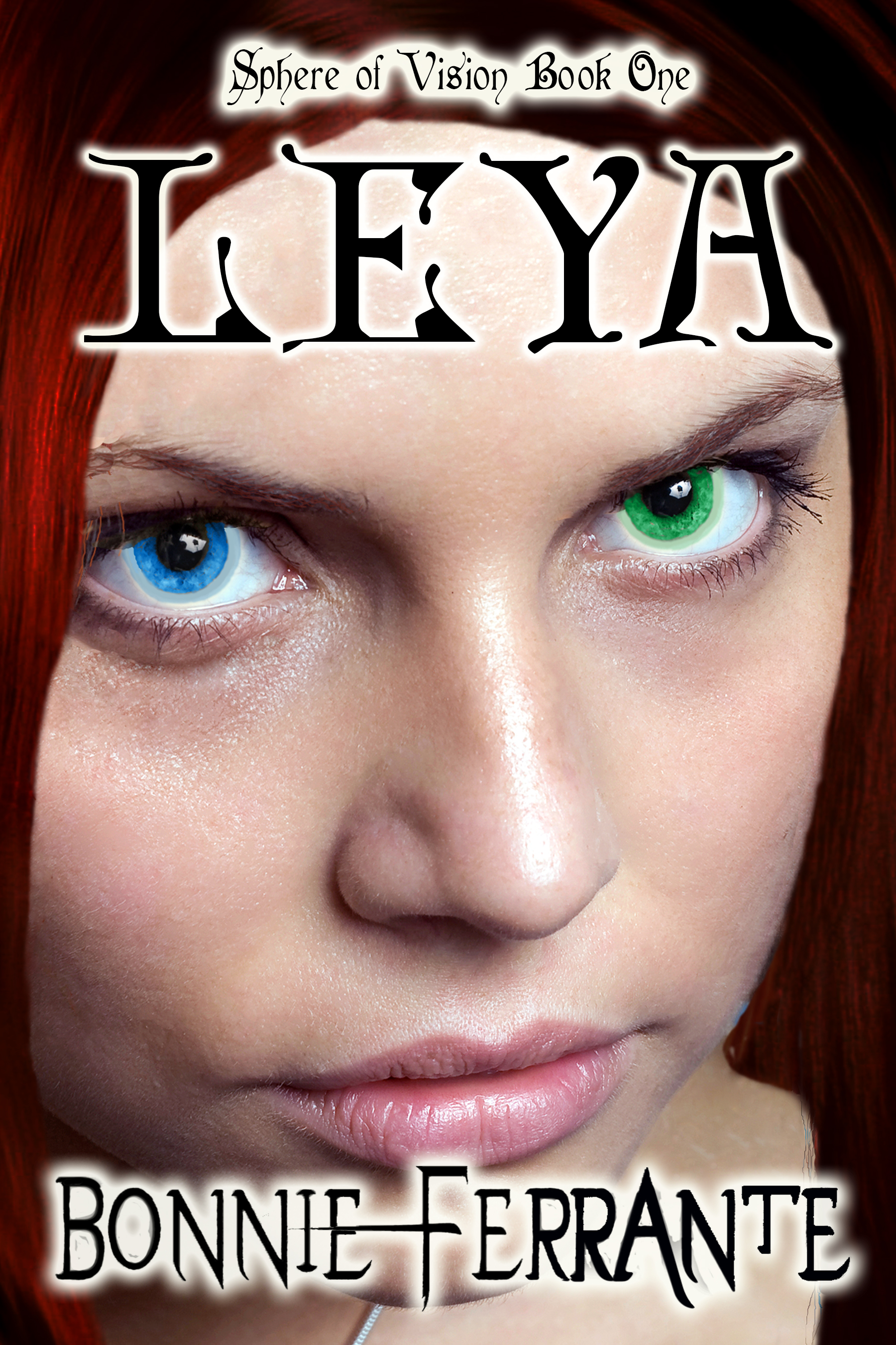 Leya: Sphere of Vision Book 1 Book Cover