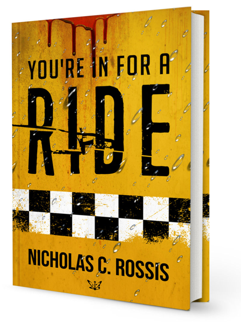 You're in for a Ride: A Collection of Science Fiction Short Stories Book Cover