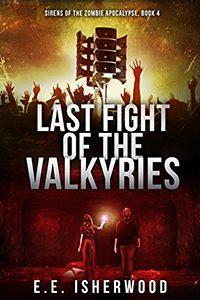 Last Fight of the Valkyries, by EE Isherwood