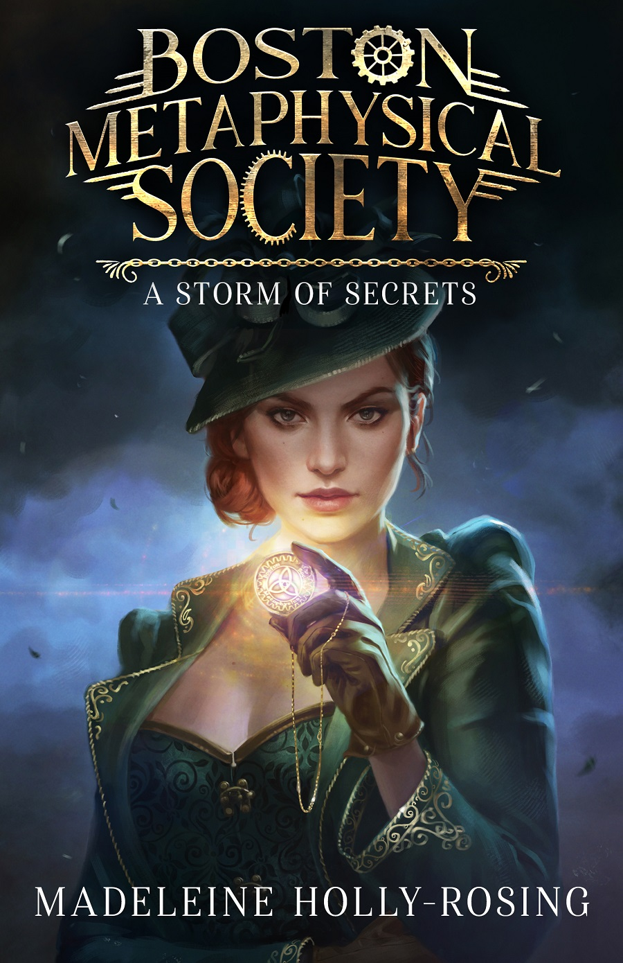Boston Metaphysical Society: A Storm of Secrets Book Cover