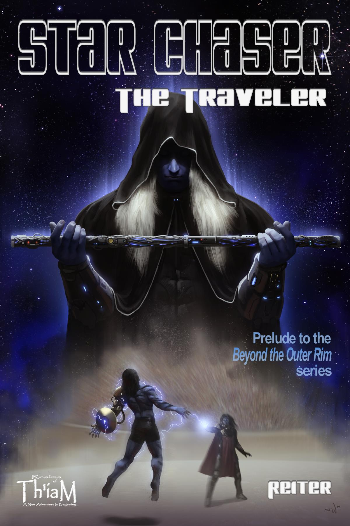 The Traveler: Beyond the Outer Rim Book Cover